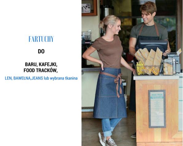 sklep internetowy blue and white, tekstylia kuchenne, aranżacja kuchni, fartuchy lniane, ścierki, obrusy, producent fartuchów, tekstylia do restauracji, fartuchy dla horeca, restauracje, fartuchy do kawiarni, aranżacja restauracji, Magda Gessler, kuchenne rewolucje