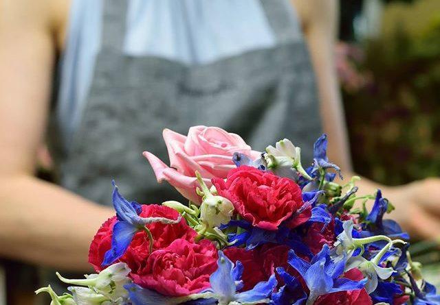 Portfolio – fartuchy lnianie dla kwiaciarń Florakropka